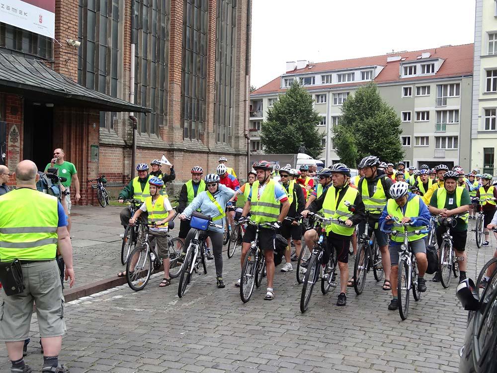 Zdjęcia z pierwszego etapu naszej pielgrzymki rowerowej