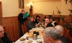 Spotkanie opłatkowe szczecińskiej pielgrzymki rowerowej 6