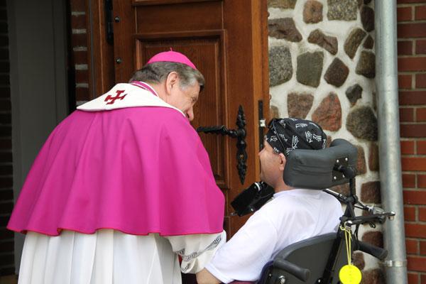 Marian z Arcybiskupem Dzięgą